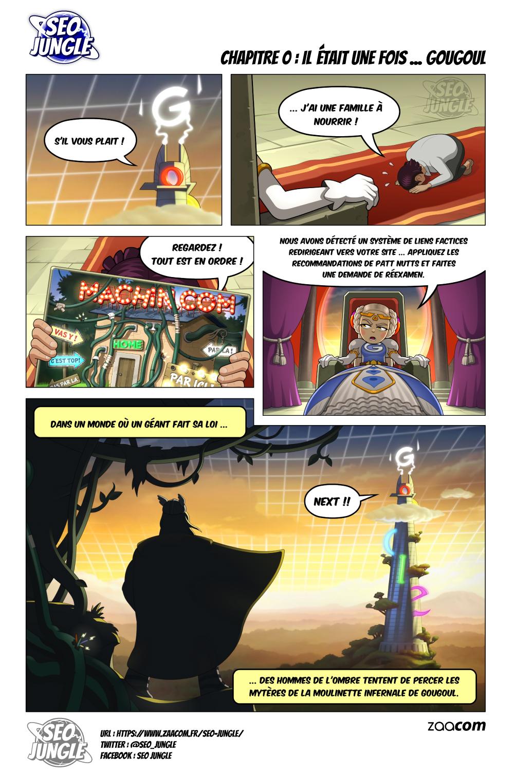 SEO Jungle : La BD qui parle du référencement web avec humour