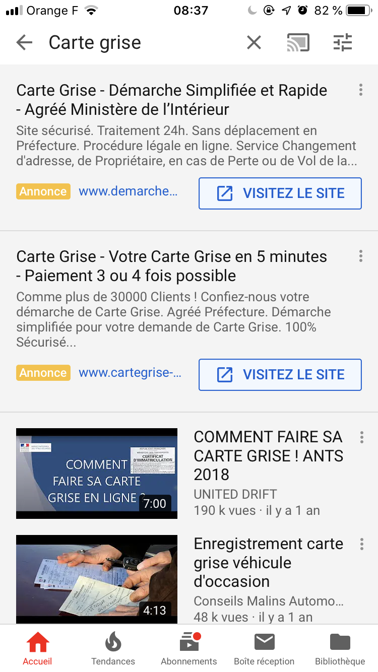 Google Ads étend ses Annonces Textuelles (ETA) à YouTube