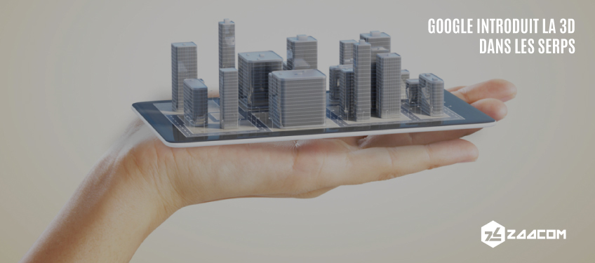 Google introduit la 3D via les images en réalité augmentée dans les SERPs