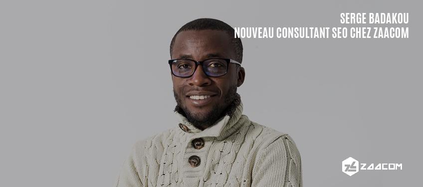 Serge Badakou rejoint l'équipe de consultants SEO de Zaacom