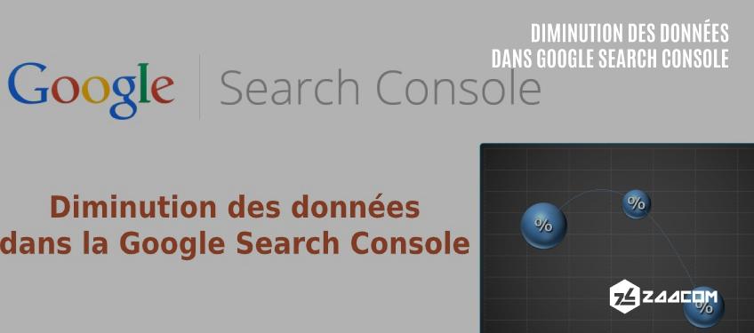Diminution des Données dans la Google Search Console