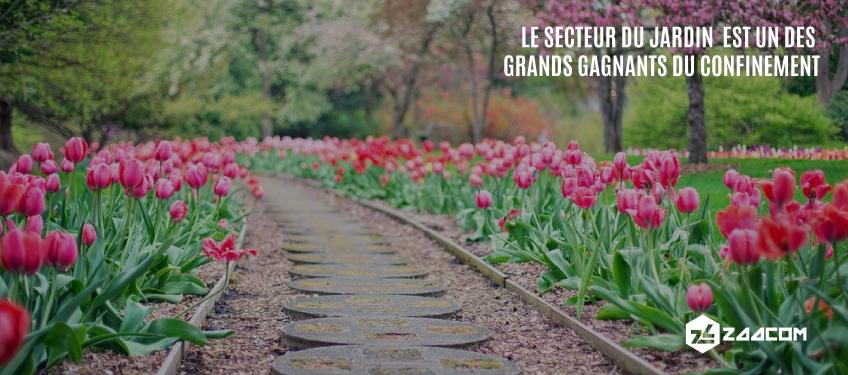Le secteur du jardin est un des grands «gagnants » du confinement