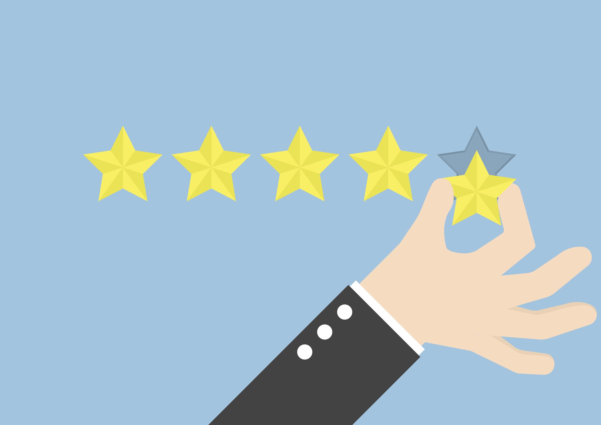L'importance des avis clients d'une entreprise sur le positionnement dans les SERPs de Google