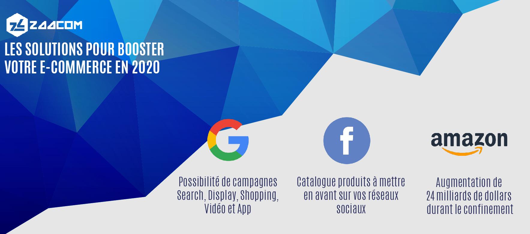 Google, Réseaux Sociaux et Marketplace