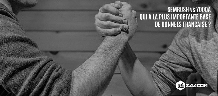SEMRUSH vs Yooda : qui a la plus importante base de données française ?